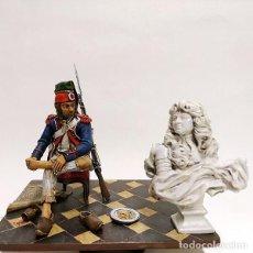 Juguetes Antiguos: SOLDADO DE PLOMO - 90 MM - REVOLUCION FRANCESA 1793 - FIGURA MINIATURA ANDREA METAL 90MM. Lote 112663439
