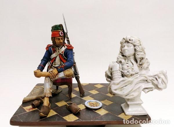 Juguetes Antiguos: SOLDADO DE PLOMO - 90 MM - REVOLUCION FRANCESA 1793 - FIGURA MINIATURA ANDREA METAL 90MM - Foto 3 - 112663439