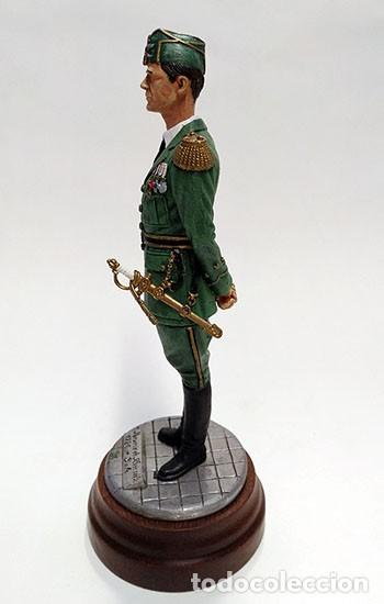 Juguetes Antiguos: SOLDADO DE PLOMO - 120 mm CAPITÁN EJÉRCITO DEL AIRE 1926 FIGURA MINIATURA ESCULTURA MILITAR FERPRAD - Foto 4 - 112883719