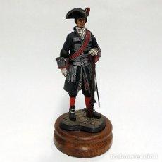 Juguetes Antiguos: SOLDADO DE PLOMO - 120 MM - GUARDIAS WALONAS 1758 - FIGURA MINIATURA ESCULTURA MILITAR. Lote 112885419
