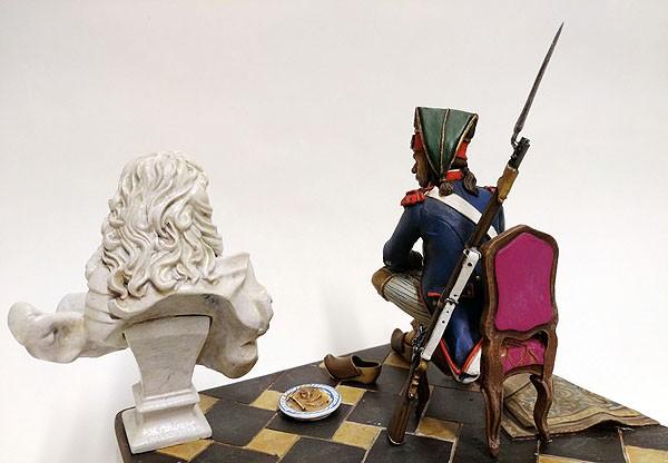 Juguetes Antiguos: SOLDADO DE PLOMO - 90 MM - REVOLUCION FRANCESA 1793 - FIGURA MINIATURA ANDREA METAL 90MM - Foto 4 - 112663439