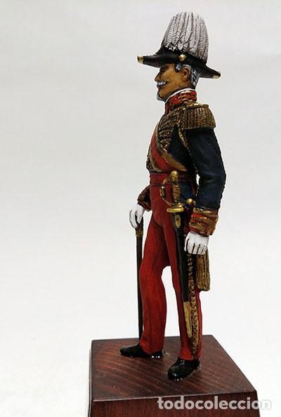 Juguetes Antiguos: SOLDADO DE PLOMO - 90 MM - CAPITAN GENERAL EJERCITO 1842 - FIGURA MINIATURA ESCULTURA MILITAR 90MM - Foto 2 - 112915387