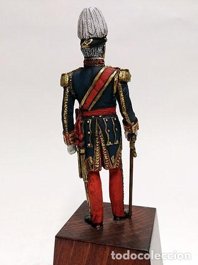 Juguetes Antiguos: SOLDADO DE PLOMO - 90 MM - CAPITAN GENERAL EJERCITO 1842 - FIGURA MINIATURA ESCULTURA MILITAR 90MM - Foto 3 - 112915387