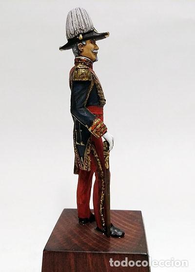 Juguetes Antiguos: SOLDADO DE PLOMO - 90 MM - CAPITAN GENERAL EJERCITO 1842 - FIGURA MINIATURA ESCULTURA MILITAR 90MM - Foto 4 - 112915387