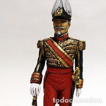 Juguetes Antiguos: SOLDADO DE PLOMO - 90 MM - CAPITAN GENERAL EJERCITO 1842 - FIGURA MINIATURA ESCULTURA MILITAR 90MM - Foto 5 - 112915387