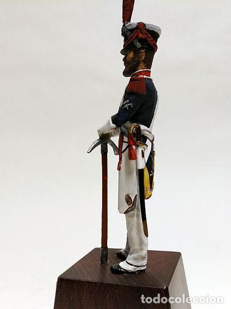 Juguetes Antiguos: SOLDADO DE PLOMO - 90 MM - MILICIA LOCAL DE MADRID 1820 - FIGURA MINIATURA ESCULTURA MILITAR 90MM - Foto 3 - 112920915