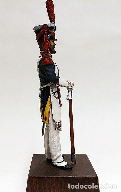 Juguetes Antiguos: SOLDADO DE PLOMO - 90 MM - MILICIA LOCAL DE MADRID 1820 - FIGURA MINIATURA ESCULTURA MILITAR 90MM - Foto 5 - 112920915