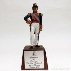 Juguetes Antiguos: SOLDADO DE PLOMO - 90 MM - CAPITAN GENERAL MARINA 1842 - FIGURA MINIATURA ESCULTURA MILITAR 90MM. Lote 112980631