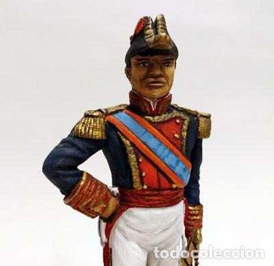 Juguetes Antiguos: SOLDADO DE PLOMO - 90 MM - CAPITAN GENERAL MARINA 1842 - FIGURA MINIATURA ESCULTURA MILITAR 90MM - Foto 2 - 112980631