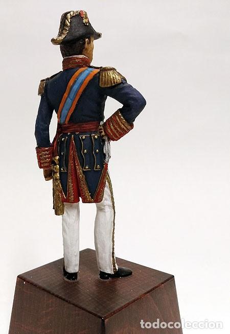 Juguetes Antiguos: SOLDADO DE PLOMO - 90 MM - CAPITAN GENERAL MARINA 1842 - FIGURA MINIATURA ESCULTURA MILITAR 90MM - Foto 3 - 112980631