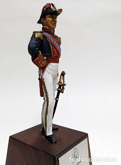 Juguetes Antiguos: SOLDADO DE PLOMO - 90 MM - CAPITAN GENERAL MARINA 1842 - FIGURA MINIATURA ESCULTURA MILITAR 90MM - Foto 4 - 112980631