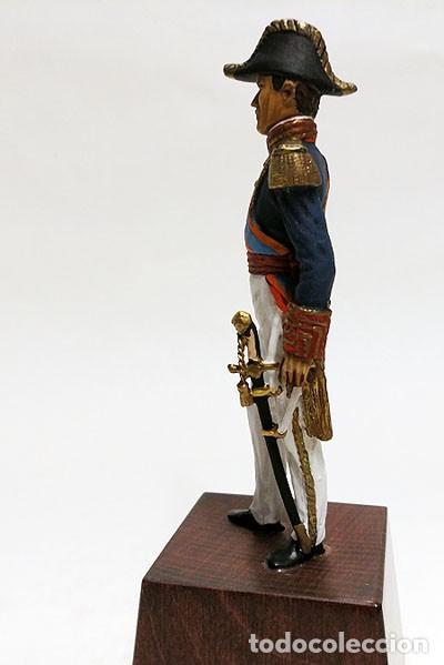 Juguetes Antiguos: SOLDADO DE PLOMO - 90 MM - CAPITAN GENERAL MARINA 1842 - FIGURA MINIATURA ESCULTURA MILITAR 90MM - Foto 5 - 112980631