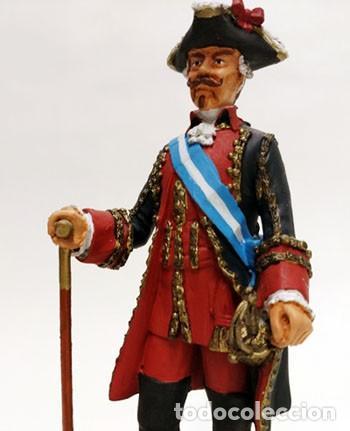 Juguetes Antiguos: SOLDADO DE PLOMO - 90 MM - CAPITAN GENERAL 1775 - FIGURA MINIATURA ESCULTURA MILITAR 90MM - Foto 2 - 112983815