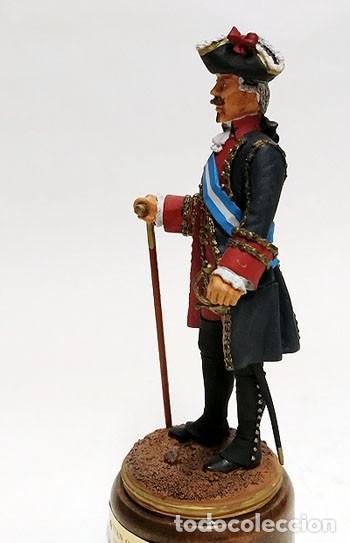 Juguetes Antiguos: SOLDADO DE PLOMO - 90 MM - CAPITAN GENERAL 1775 - FIGURA MINIATURA ESCULTURA MILITAR 90MM - Foto 3 - 112983815
