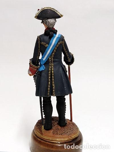Juguetes Antiguos: SOLDADO DE PLOMO - 90 MM - CAPITAN GENERAL 1775 - FIGURA MINIATURA ESCULTURA MILITAR 90MM - Foto 4 - 112983815