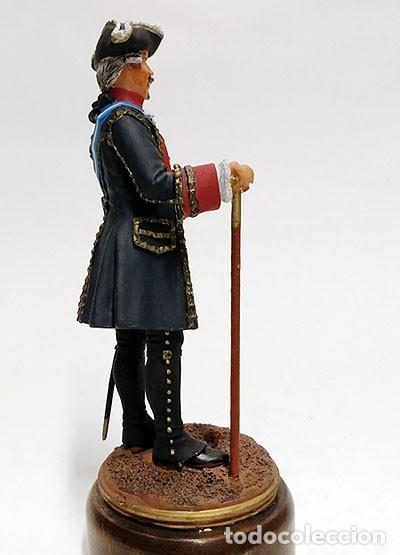 Juguetes Antiguos: SOLDADO DE PLOMO - 90 MM - CAPITAN GENERAL 1775 - FIGURA MINIATURA ESCULTURA MILITAR 90MM - Foto 5 - 112983815