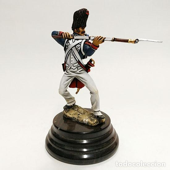 Juguetes Antiguos: SOLDADO DE PLOMO - 90 MM GUARDIA IMPERIAL 1815 - FIGURA MINIATURA METAL 90MM - Foto 6 - 113109271