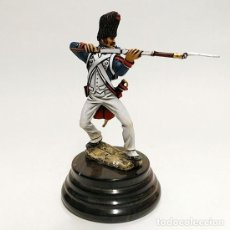 Juguetes Antiguos: SOLDADO DE PLOMO - 90 MM GUARDIA IMPERIAL 1815 - FIGURA MINIATURA METAL 90MM. Lote 113109271