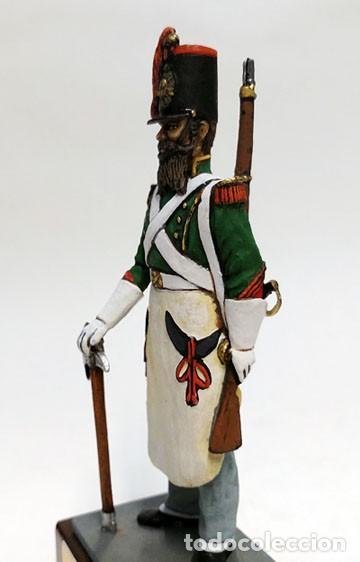 Juguetes Antiguos: SOLDADO DE PLOMO - 90 MM GASTADOR DE INFANTERIA ESPAÑOL 1840 - FIGURA MINIATURA METAL 90MM - Foto 2 - 113121115