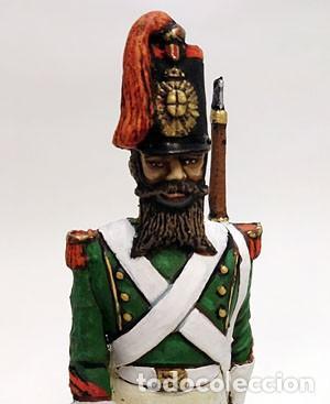 Juguetes Antiguos: SOLDADO DE PLOMO - 90 MM GASTADOR DE INFANTERIA ESPAÑOL 1840 - FIGURA MINIATURA METAL 90MM - Foto 3 - 113121115
