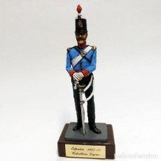 Juguetes Antiguos: SOLDADO DE PLOMO - 90 MM CABALLERIA LIGERA ESPAÑOLA 1825-35 - FIGURA MINIATURA METAL 90MM. Lote 113169779