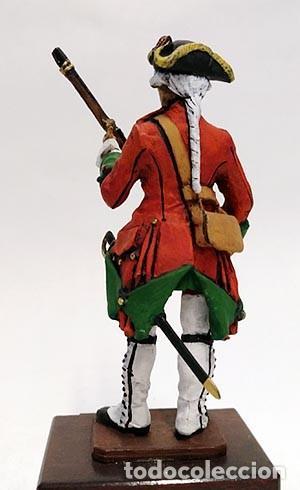 Juguetes Antiguos: SOLDADO DE PLOMO 90 MM - FUSILERO REGIMIENTO HIBERNIA 1727 - FIGURA MINIATURA MILITAR SOLDADITO 90MM - Foto 4 - 113519291