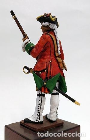 Juguetes Antiguos: SOLDADO DE PLOMO 90 MM - FUSILERO REGIMIENTO HIBERNIA 1727 - FIGURA MINIATURA MILITAR SOLDADITO 90MM - Foto 5 - 113519291