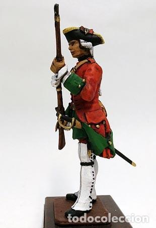 Juguetes Antiguos: SOLDADO DE PLOMO 90 MM - FUSILERO REGIMIENTO HIBERNIA 1727 - FIGURA MINIATURA MILITAR SOLDADITO 90MM - Foto 6 - 113519291