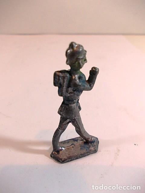 Juguetes Antiguos: Antiguo soldadito de plomo - Foto 3 - 115083211
