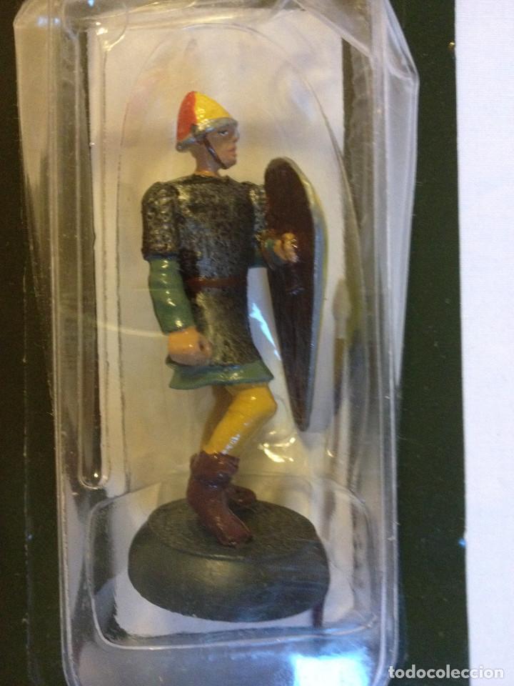 Juguetes Antiguos: Soldados plomo- Guerreros a pie de ALMIRAL PALAU- Colección- 78 soldados- - Foto 6 - 115146071