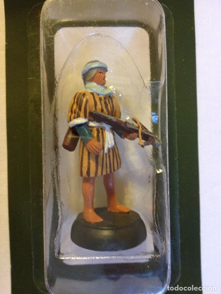 Juguetes Antiguos: Soldados plomo- Guerreros a pie de ALMIRAL PALAU- Colección- 78 soldados- - Foto 14 - 115146071