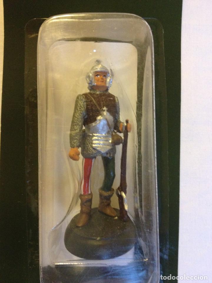 Juguetes Antiguos: Soldados plomo- Guerreros a pie de ALMIRAL PALAU- Colección- 78 soldados- - Foto 18 - 115146071