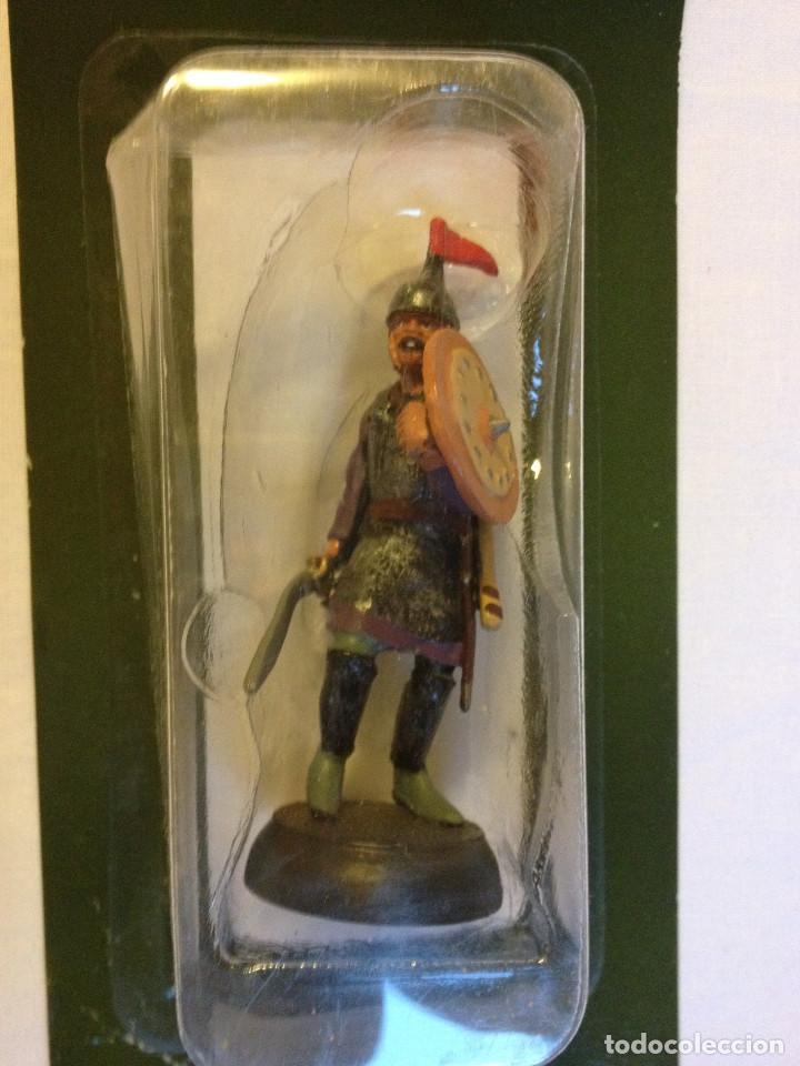 Juguetes Antiguos: Soldados plomo- Guerreros a pie de ALMIRAL PALAU- Colección- 78 soldados- - Foto 24 - 115146071