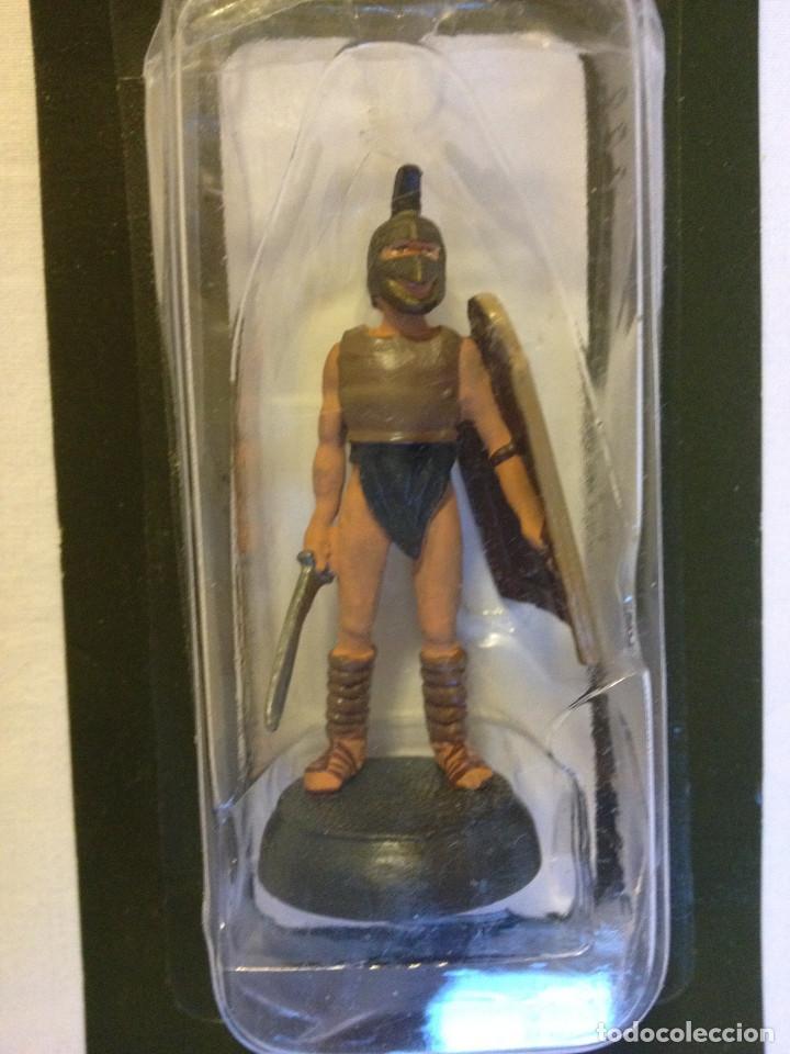 Juguetes Antiguos: Soldados plomo- Guerreros a pie de ALMIRAL PALAU- Colección- 78 soldados- - Foto 25 - 115146071