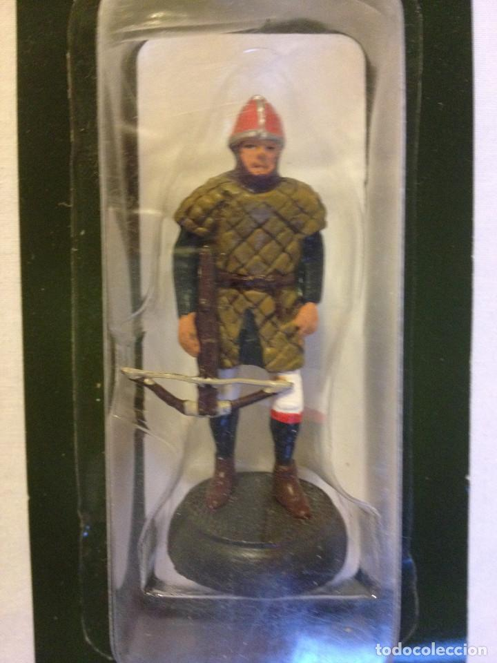 Juguetes Antiguos: Soldados plomo- Guerreros a pie de ALMIRAL PALAU- Colección- 78 soldados- - Foto 42 - 115146071