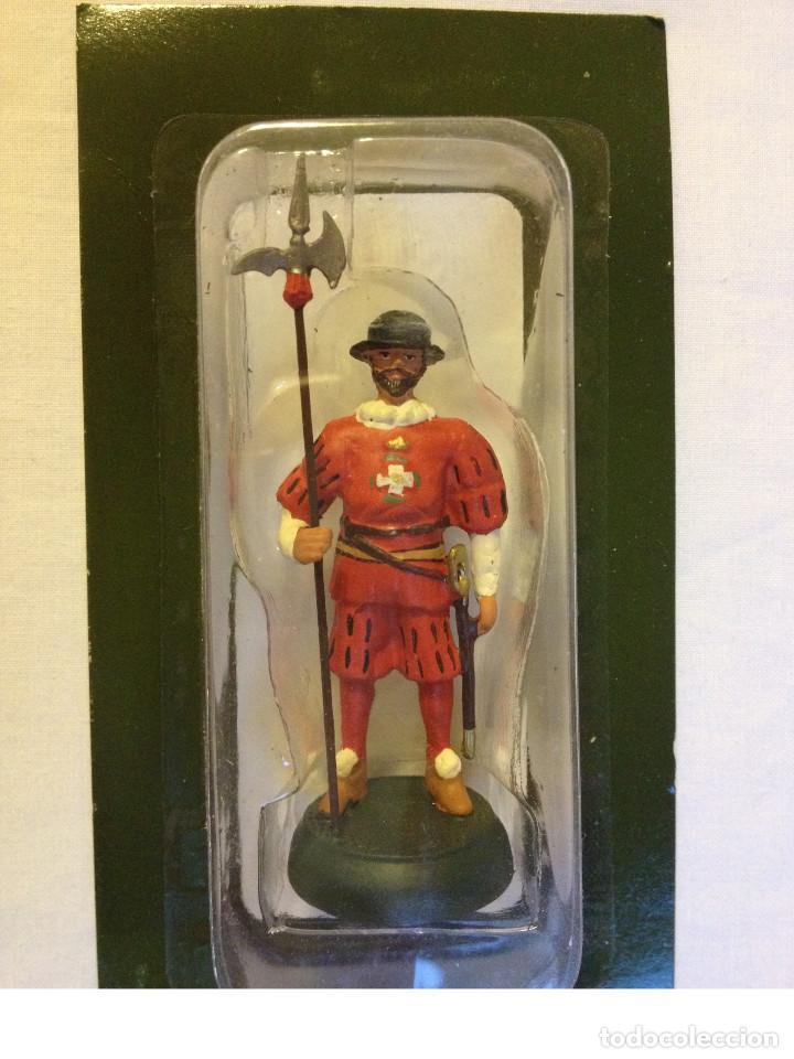 Juguetes Antiguos: Soldados plomo- Guerreros a pie de ALMIRAL PALAU- Colección- 78 soldados- - Foto 46 - 115146071