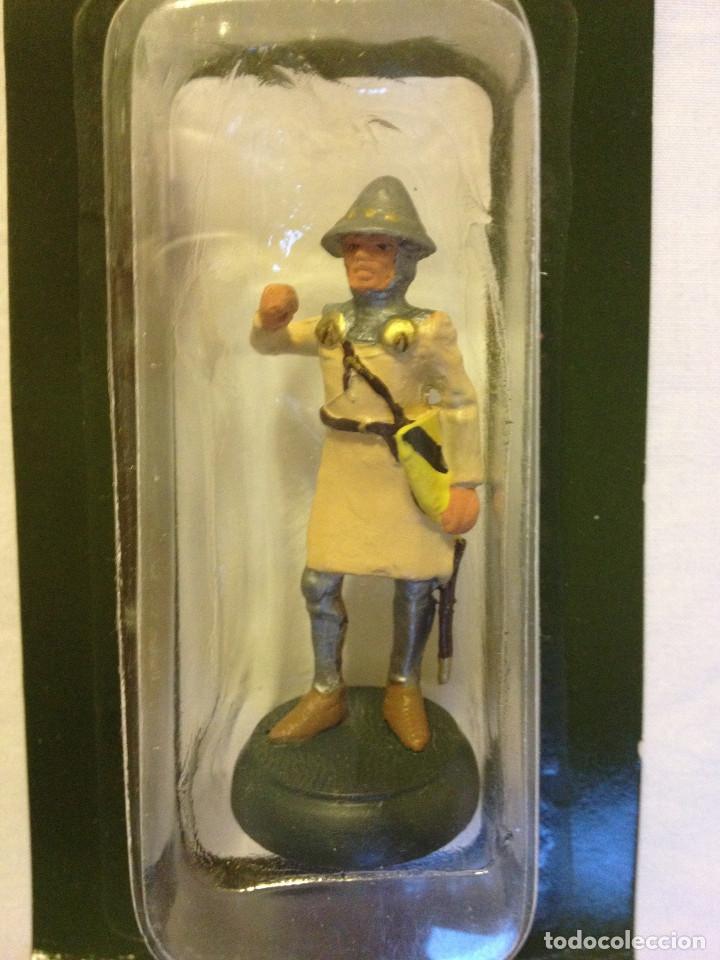 Juguetes Antiguos: Soldados plomo- Guerreros a pie de ALMIRAL PALAU- Colección- 78 soldados- - Foto 52 - 115146071