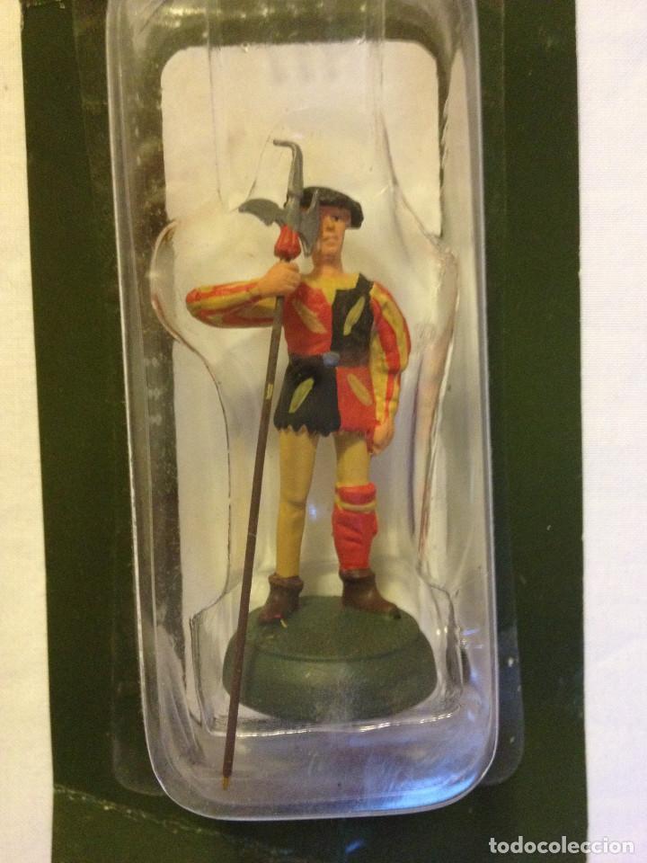 Juguetes Antiguos: Soldados plomo- Guerreros a pie de ALMIRAL PALAU- Colección- 78 soldados- - Foto 54 - 115146071