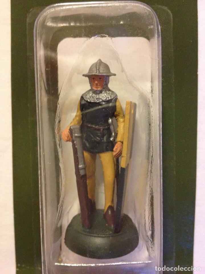 Juguetes Antiguos: Soldados plomo- Guerreros a pie de ALMIRAL PALAU- Colección- 78 soldados- - Foto 65 - 115146071