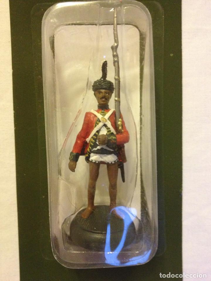 Juguetes Antiguos: Soldados plomo- Guerreros a pie de ALMIRAL PALAU- Colección- 78 soldados- - Foto 66 - 115146071