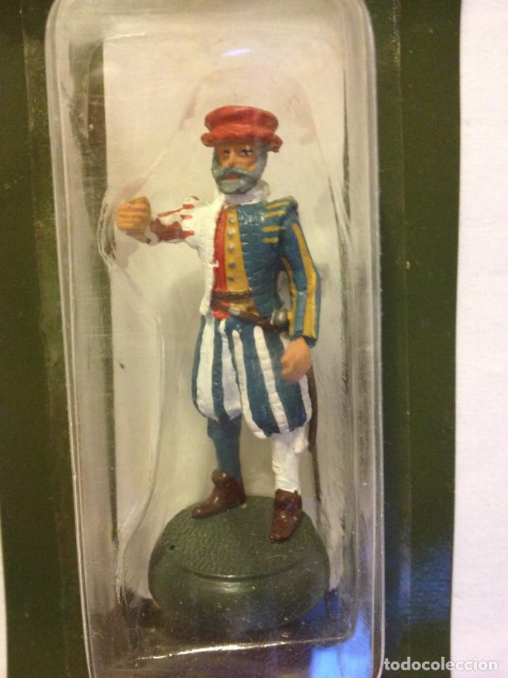 Juguetes Antiguos: Soldados plomo- Guerreros a pie de ALMIRAL PALAU- Colección- 78 soldados- - Foto 74 - 115146071