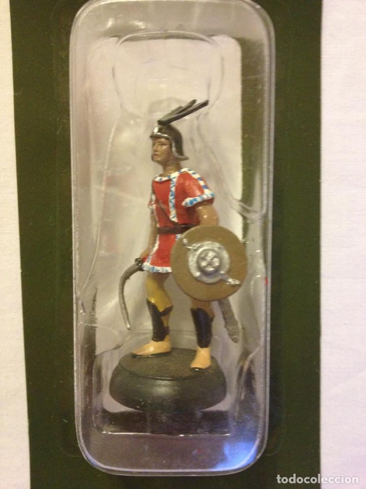 Juguetes Antiguos: Soldados plomo- Guerreros a pie de ALMIRAL PALAU- Colección- 78 soldados- - Foto 77 - 115146071