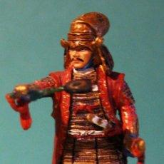 Juguetes Antiguos: SAMURAI - UESUGI KENSHIN (1530 - 1578 ) - DEL PRADO - 1/32 - SOLDADO DE PLOMO. Lote 115271367