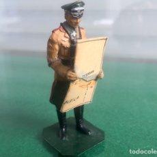 Juguetes Antiguos: SOLDADO DE PLOMO GENERAL NAZI ERWIN ROMMEL. Lote 115290011