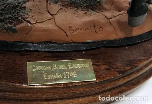 Juguetes Antiguos: SOLDADO DE PLOMO - 90 MM - BENEITO - CAPITAN GENERAL DEL EJERCITO ESPAÑOL 1746 FIGURA MINIATURA 90MM - Foto 9 - 115743087