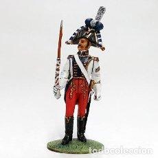 Juguetes Antiguos: SOLDADO DE PLOMO - 1:30 - GUERRAS NAPOLEONICAS - TAMBOR MAYOR WESTPHALIE 1810 - DEL PRADO. Lote 115827939