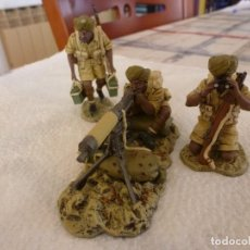 Juguetes Antiguos: VICKERS GUNN 8TH ARMY IN ÁFRICA-ESCALA 1/30-KING & COUNTRY-II WAR WORLD.. Lote 116625099