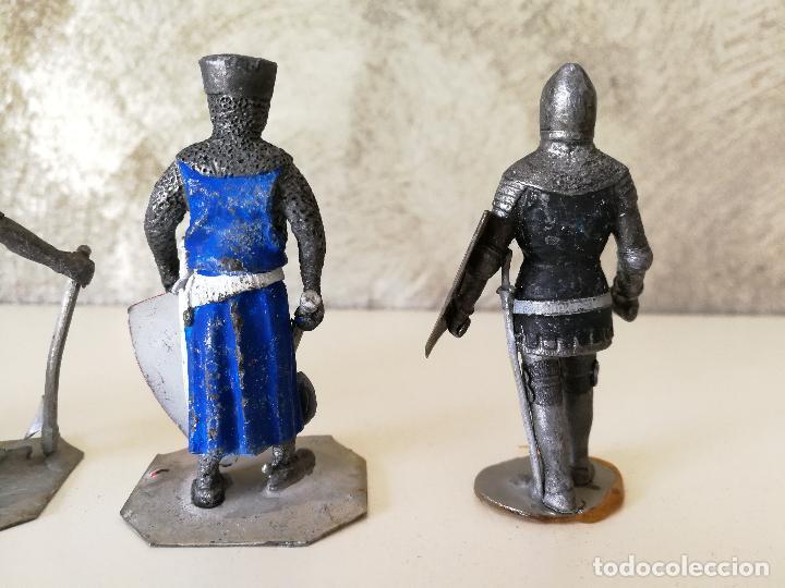 Juguetes Antiguos: LOTE SOLDADOS DE PLOMO MEDIEVALES - Foto 5 - 117357607