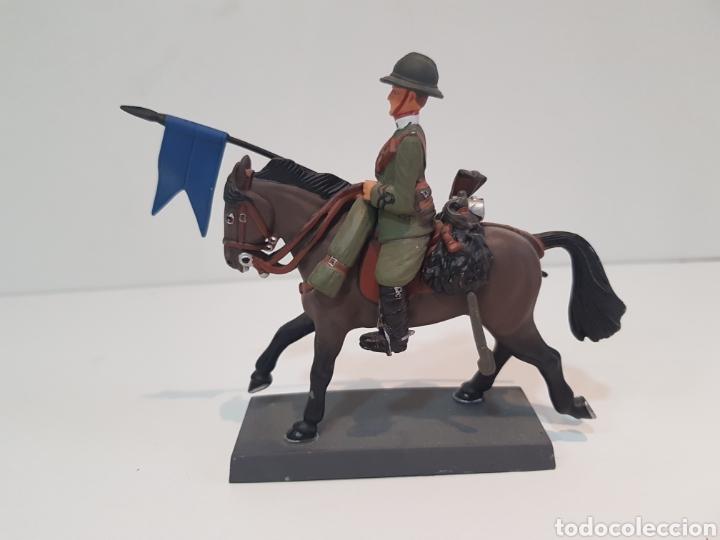 Juguetes Antiguos: Dead soldado a caballo lancero de Novara Italia 1917 by Cassandra medidas 13 x 10 cm de plomo - Foto 2 - 117763850