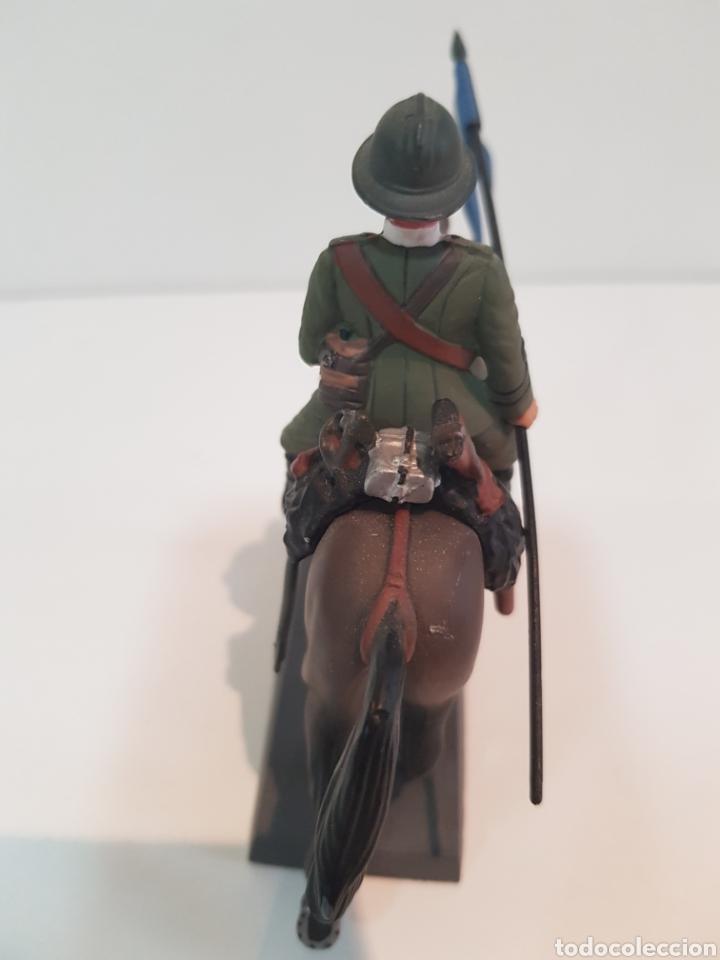 Juguetes Antiguos: Dead soldado a caballo lancero de Novara Italia 1917 by Cassandra medidas 13 x 10 cm de plomo - Foto 3 - 117763850